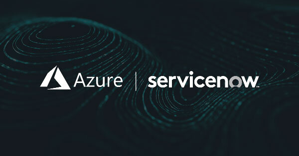 Azure Monitor-ServiceNow Integration Dark Background Logos1