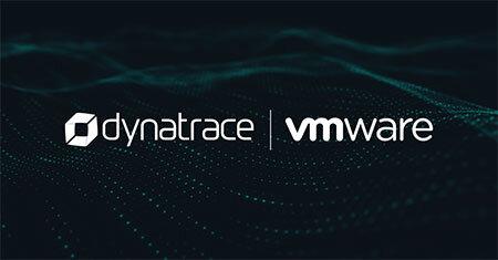 Dynatrace-vROps Integration Dark Background Logos3