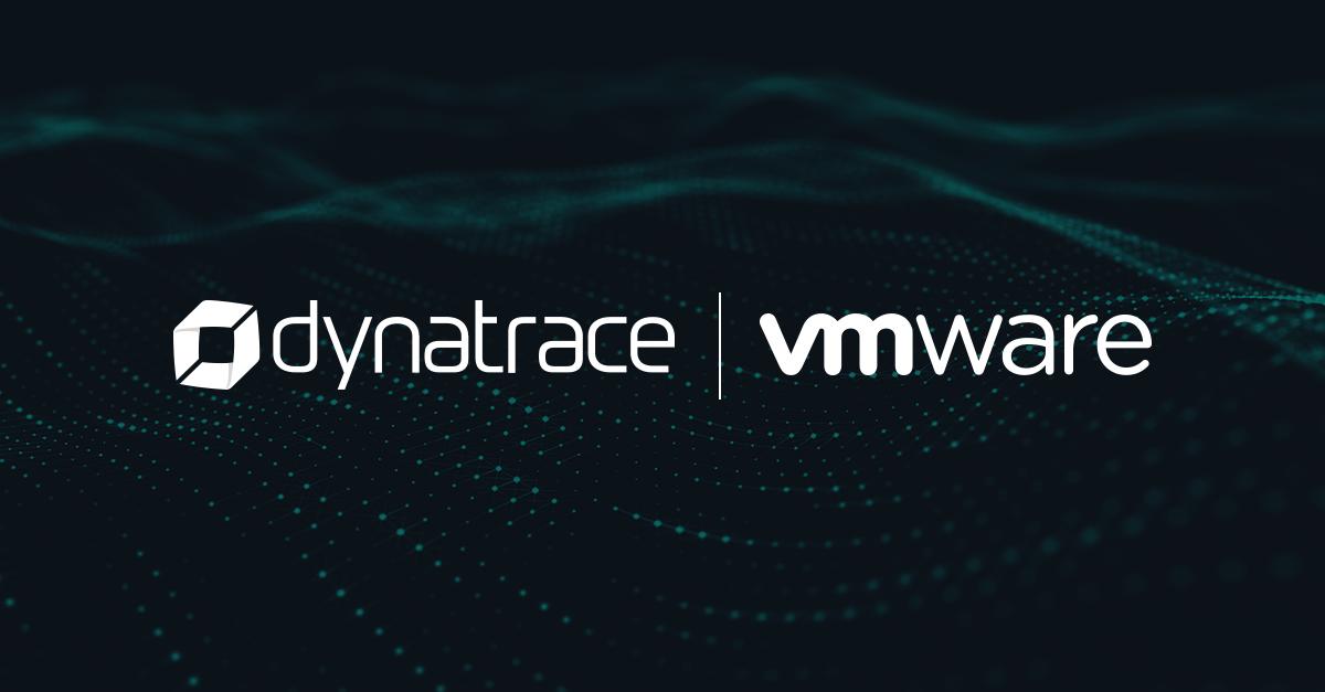 Dynatrace Logo and VMware vROps Logo