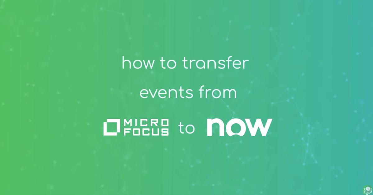 Micro Focus ServiceNow Blog