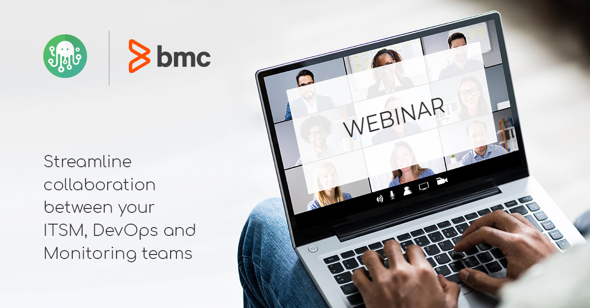 BMC Webinar Laptop Screen